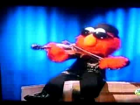 ELMO CAN PLAY THE VIOLIN!!! - YouTube