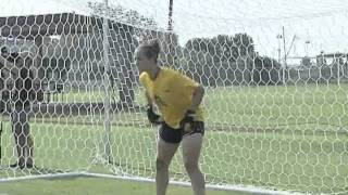 LSU Soccer (part 2) Carter Bryant vs Mo Isom - Penalty Kick Shootout
