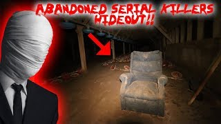ESCAPING AN ABANDONED SERIAL KILLERS HIDEOUT * WE WERE ATTACKED*  | MOE SARGI