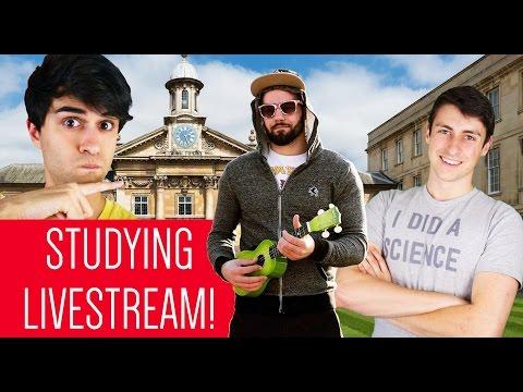 UNIVERSITY STUDYING LIVE Q&A!