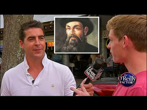 Watters' World: Columbus Day Edition - Did These People Sleep Through History Class?