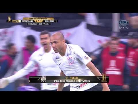 GOL: Corinthians 2-1 Colo Colo