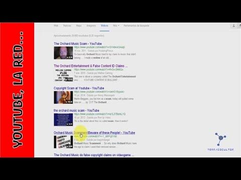 La Estafa de Orchard Music en Youtube