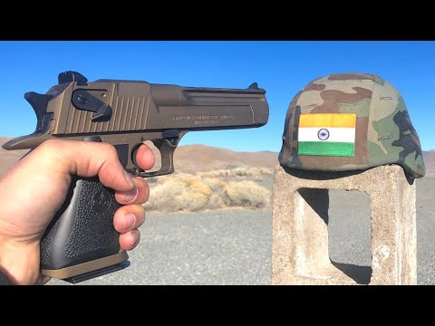 Indian Military Helmet Test 🇮🇳