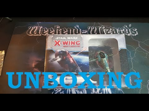 X-Wing 1.0 (Old-Wing): Sklave 1 UNBOXING