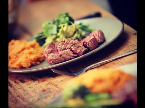 Team GB Athlete Samantha Murray's Steak, with an Avocado Salad