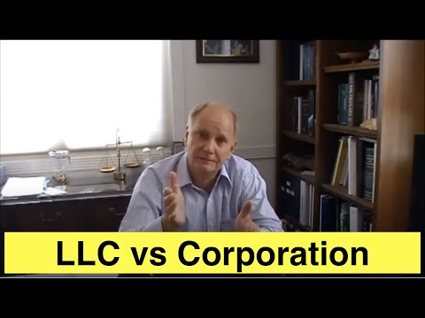 LLC vs Corporation