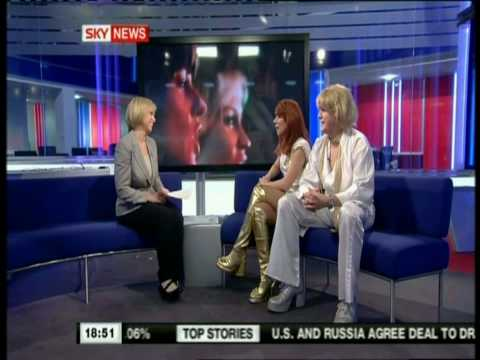 Abba's Angels Interview, Sky News 26/3/10