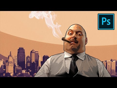 Transform Portraits To GTA Characters In Photoshop!