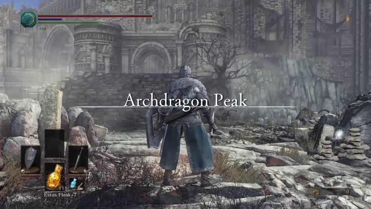 how to get to archdragon peak