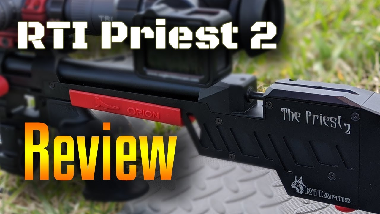 Orion reviews the RTI Priest 2 | Orion the Iguana Hunter