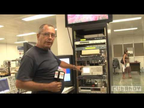 Cuba, de la señal analógica a la tv digital