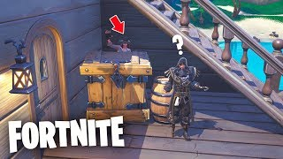 DAS *SECRET ESCONDITE* DES PIRATA-Versands!.. 🤫😂 Das Versteck in Fortnite Battle Royale