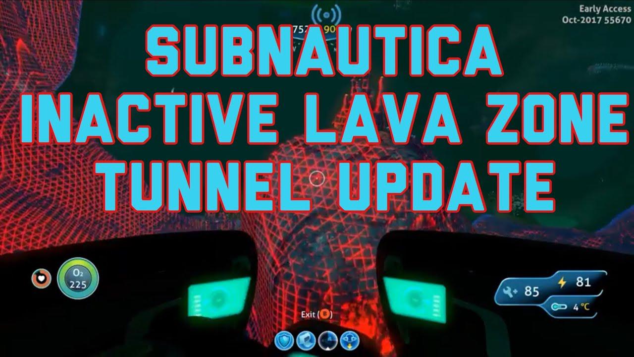 Subnautica Inactive Lava Zone Tunnel Update - 1 Up Nerdcore :: Let's