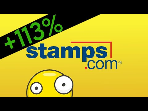 CRAZY +113% Stock Gain in 2 days! Stamps.com (STMP)