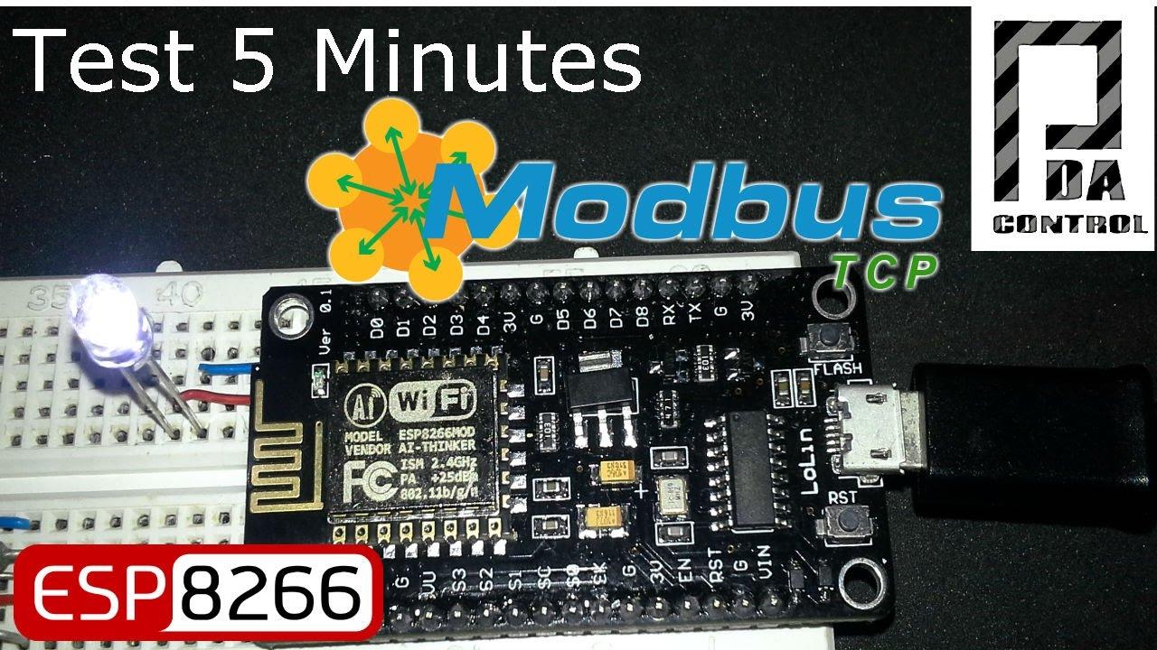 Update ESP8266 Industrial Modbus TCP IP V2 0 - PDAControl