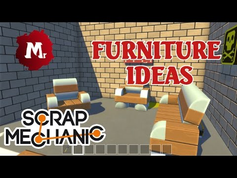 scrap mechanic furniture ideas youtubescrap mechanic furniture ideas