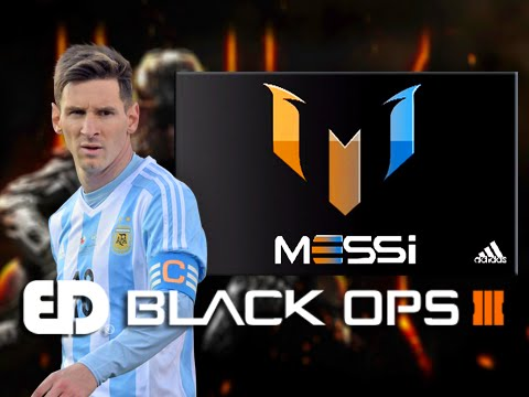 Black Ops 3: MESSI LOGO ADIDAS Emblem Tutorial (Emblem Attack 3)
