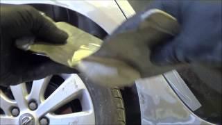 Покраска авто своими руками. Шпатлевание.(Правильное нанесение шпатлевки, и ее зашкуривание. Подготовка к грунтованию., 2013-08-06T21:14:01.000Z)