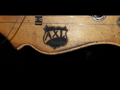 Jeff tries out the Axl Badwater again for the first time.   Guitar review