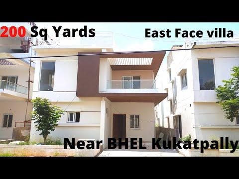 BEAUTY FULL || LUXURY || DUPLEX VILLAS FOR SALE IN HYDERABAD|| 200 Sq Yards || East Face Villa