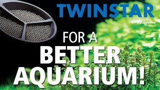 TWINSTAR! For a better algae-free aquarium!