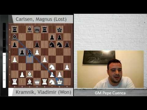 Kramnik fulmina a Magnus Carlsen (Norway Chess 2017)