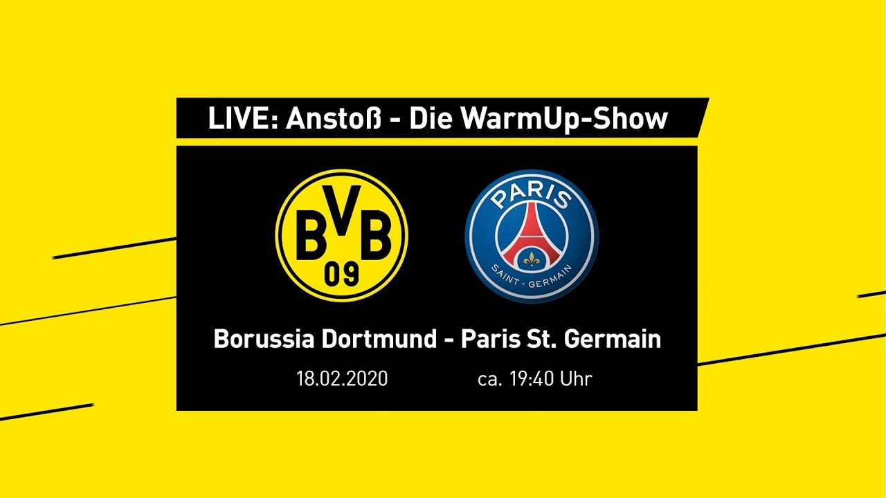 Anstoß - Die WarmUp-Show mit Nobby Dickel & Thomas Delaney | BVB - Paris St. Germain