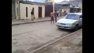 Pelea callejera en Bolivia - Santa Cruz