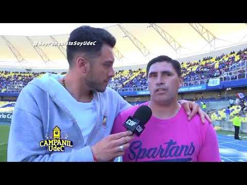 Homenaje Todo Deportes, Diario Concepción, Todos los Lunes y CD UdeC a  jugadores Campanil 1997