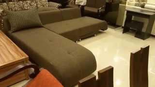 L Shaped Sofa Cum Bed In Mumbai & Chandigarh