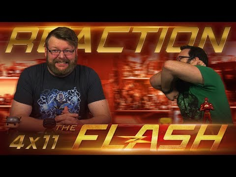 """The Flash 4x11 REACTION!! """"The Elongated Knight Rises"""""""