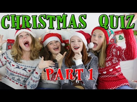 The Big Fat Christmas Quiz - Part 1 - Funny Video | NiliPOD