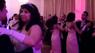 bronx party and wedding dj 718 690 0070 at celina benites sweet 16 event part 1