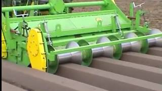 Repeat youtube video Weremczuk - AUR4 - formowanie redlin (ridge forming machine)