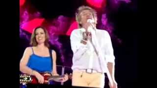 ROD STEWART EN URUGUAY-MAGGIE MAE Y DO U THINK I´M SEXY