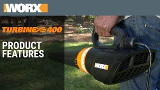 TURBINE 400 Electric Leaf Blower | Product Features