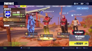 Fortnite Squads and High Stakes Getaway LTM - Fortnite Battle Royale Live Stream
