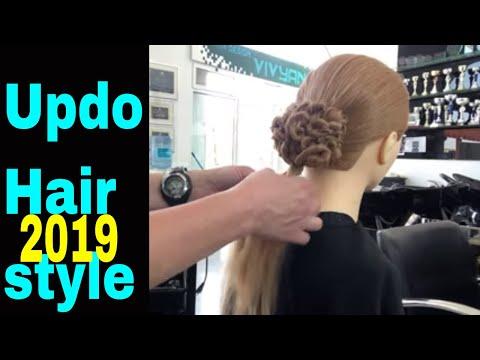 Updo Hairstyle-Amal Hermuz-Youtube thumbnail