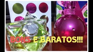Perfumes bons e baratos Fantasy e Believe Britney Spears!