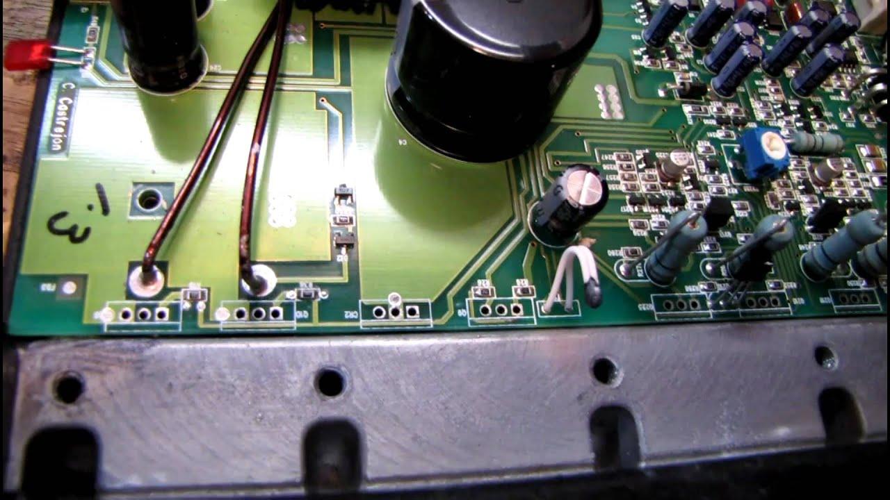rockford fosgate punch p200 2 wiring diagram motor single phase reversible car stereo amp repair youtube