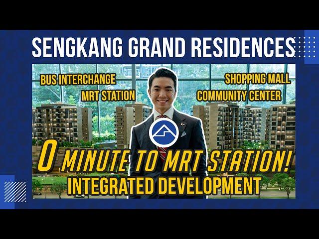 Sengkang Grand Residences Tour [Integrated Development] | BlkBuster Ep 8