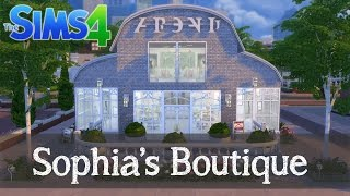 The Sims 4 Speed Build: Sophia's Boutique