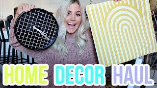 HOME DECOR HAUL + HOUSE SNEAK PEEK!!