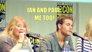 Comic Con 2015 The Vampire Diaries Panel - Funny Parts