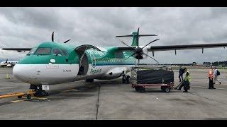 Aer Lingus Regional ATR72-600 Dublin to Glasgow *Full Flight*