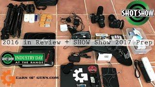 SHOT Show 2017 Prep Vlog |GearsofGuns