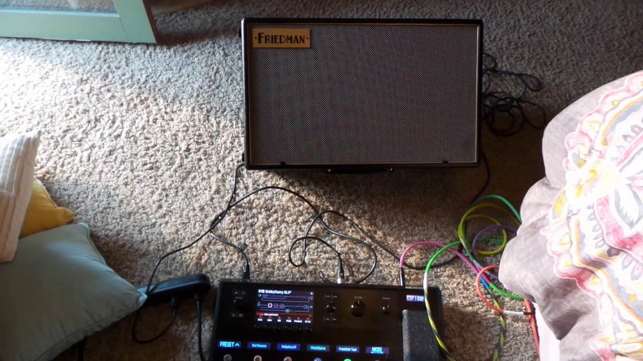 line 6 helix and friedman asm 12 clean to breakup tones with volume knob youtube. Black Bedroom Furniture Sets. Home Design Ideas