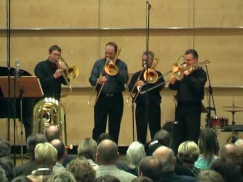 G Gershwin  Medley  trombone quartet