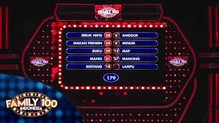 Apakah Tim Cokelat bisa membawa pulang 200 JUTA? - PART 4 - Family 100 Indonesia screenshot 4